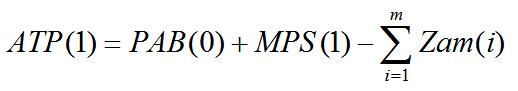 Wzór na zwykłe ATP